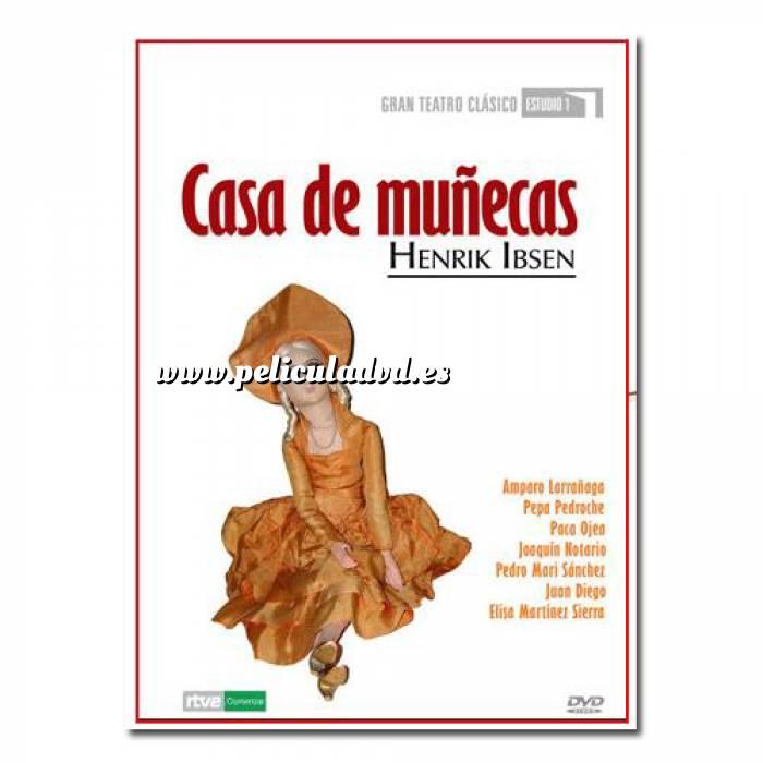 Imagen Teatro Clásico Colección DVD Teatro Clásico en Español - Casa de Muñecas (Últimas Unidades)