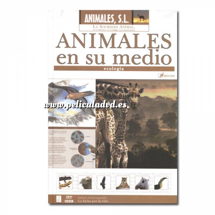 Imagen Animales S.L. DVD Animales S.L. - Animales en su medio (Últimas Unidades)