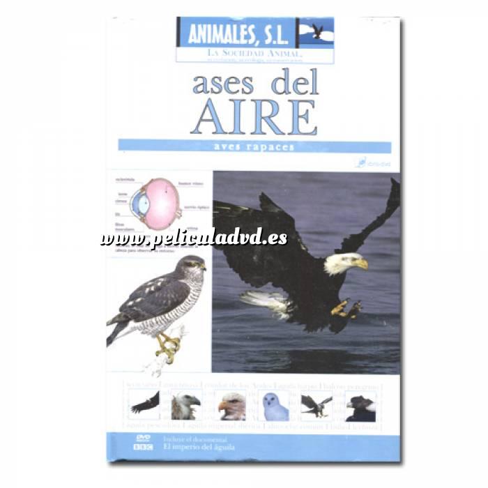Imagen Animales S.L. DVD Animales S.L. - Ases del aire, aves rapaces (Últimas Unidades)