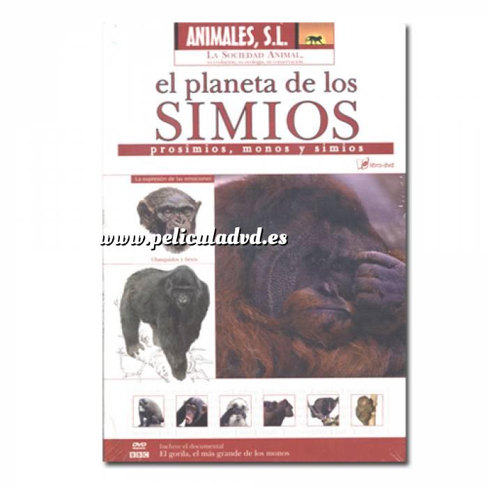 Imagen Animales S.L. DVD Animales S.L. - El planeta de los simios (Últimas Unidades)