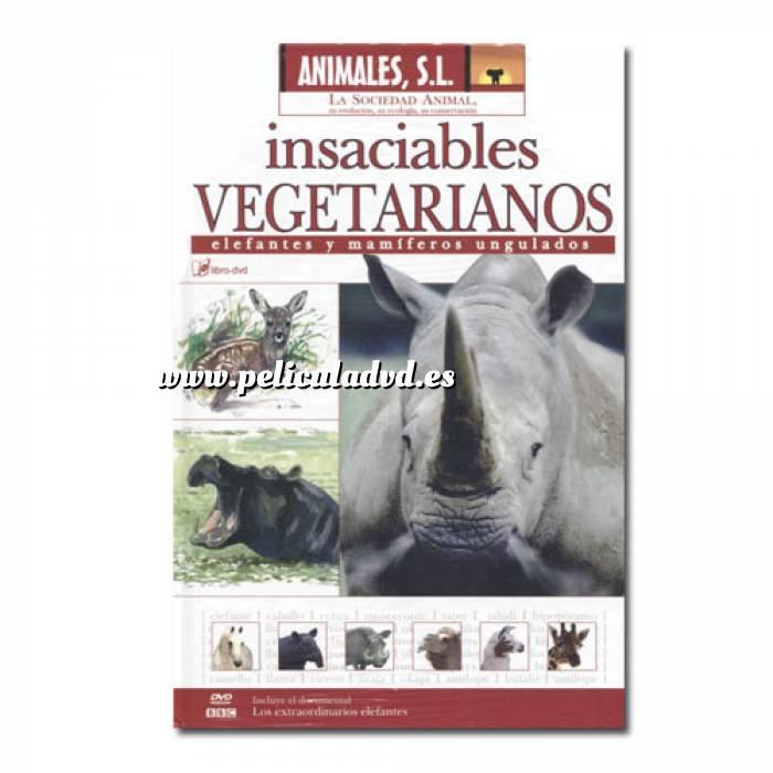 Imagen Animales S.L. DVD Animales S.L. - insaciables vegetarianos (Últimas Unidades)