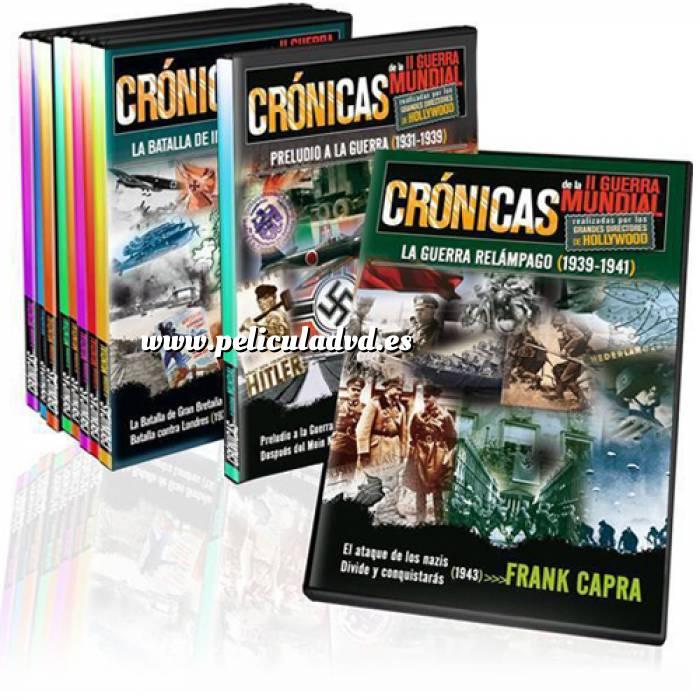 Imagen II Guerra Mundial COLECCIÓN DVD Crónicas de la Segunda Guerra Mundial - 8 dvd´s (Últimas Unidades)