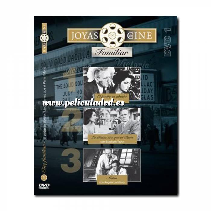 Imagen Joyas del cine Joyas del Cine 1 - Familiar - El padre es Abuelo / La última vez que vi parís / Motín (Últimas Unidades)