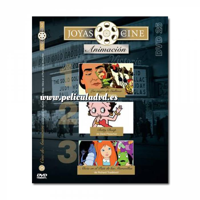 Imagen Joyas del cine Joyas del Cine 25 - Animación - Los viajes de Gulliver / Betty Boop / Alicia en el país de las maravillas (Últimas Unidades)