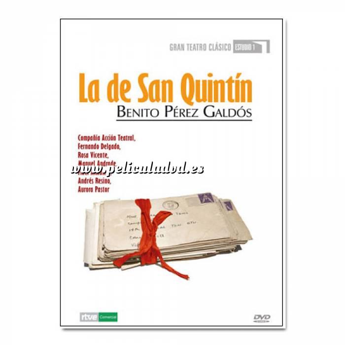 Imagen Teatro Clásico Colección DVD Teatro Clásico en Español - La de San Quintín (Últimas Unidades)