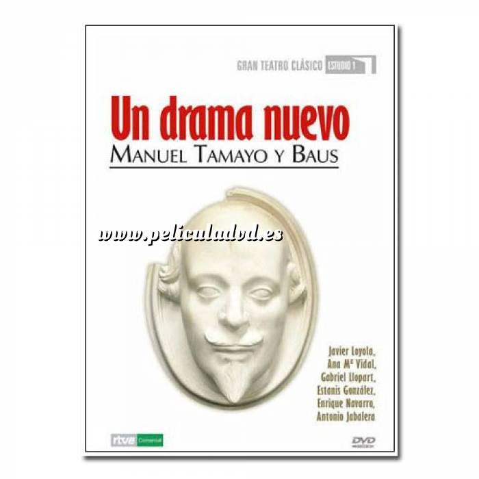 Imagen Teatro Clásico Colección DVD Teatro Clásico en Español - Un drama nuevo (Últimas Unidades)