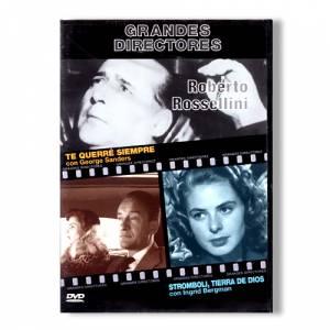 Grandes Directores - DVD Grandes Directores - Roberto Rosellini - Te Querré Siempre / Stromboli, Tierra de Dios