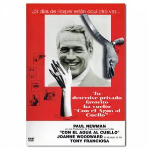Paul Newman - DVD Paul Newman - Harper. Con el agua al cuello