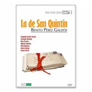 Teatro Clásico - Colección DVD Teatro Clásico en Español - La de San Quintín (Últimas Unidades)